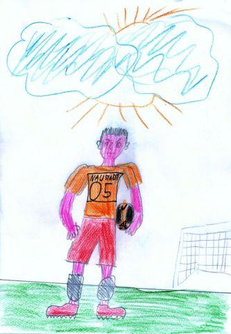 Gelbe Karte Grundschule.Fussball